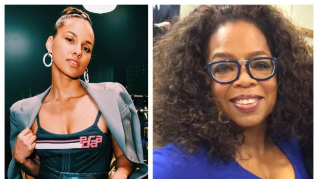 "Alicia Key Teams Up W/ Oprah For New Memoir ""More Myself"""