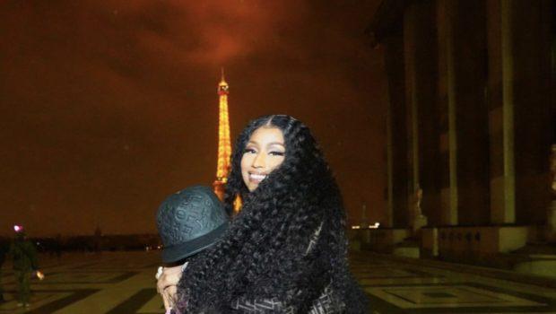 Nicki Minaj & Boyfriend Zoo Spotted On Date Night in Paris [VIDEO]