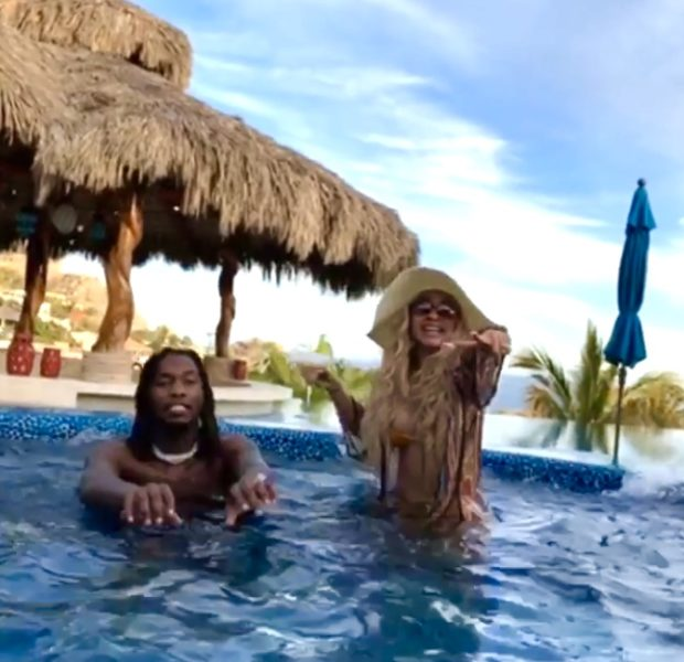 Offset & Cardi B Get Lit In Cabo! [VIDEO]