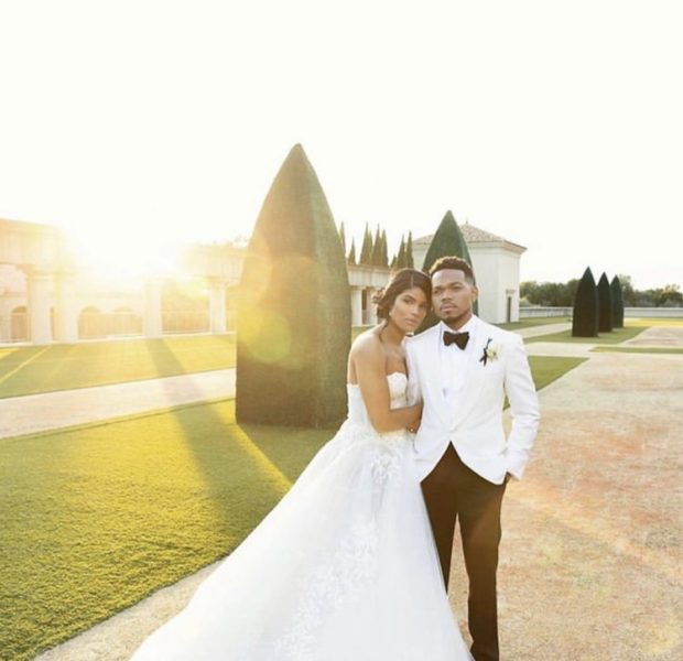 Chance the Rapper Ties the Knot! Kirk Franklin, Kanye, Dave Chappelle Attend [Photos]