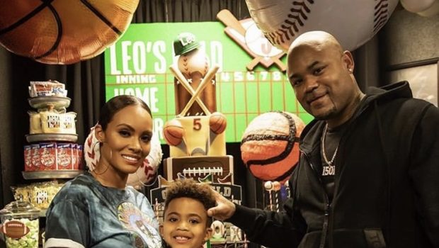 Evelyn Lozada & Carl Crawford Celebrate Son's 5th Birthday [Photos]