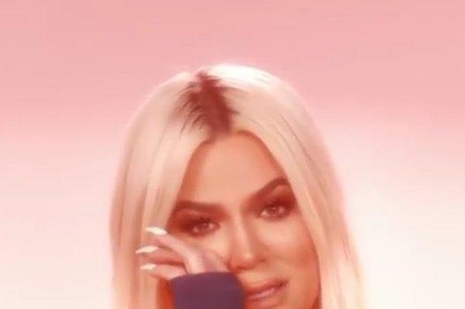 A Sobbing Khloe Kardashian Discusses Jordyn Woods, Tristan Thompson Scandal  In 'KUWTK' Trailer [VIDEO]
