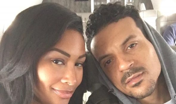 Matt Barnes' Girlfriend Anansa Sims Throws Him A Surprise Birthday Party