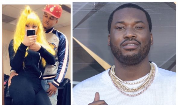 Meek Mill's New Song Has Fans Thinking He's Dissing Ex Nicki Minaj & Her Boyfriend