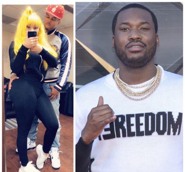 Meek Mill's New Song Has Fans Thinking He's Dissing Ex Nicki Minaj & Her Boyfriend