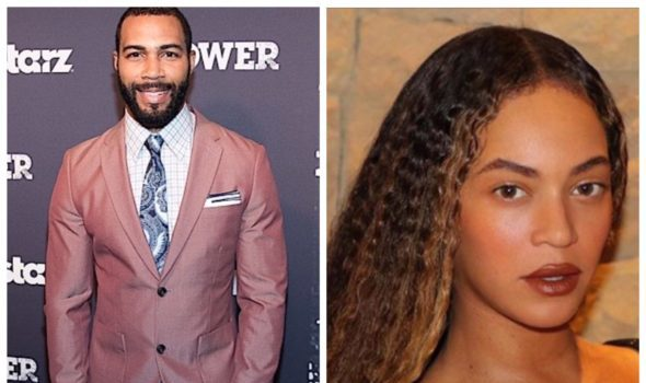 Beyoncé Fans Bombard Omari Hardwick's Comment Section After He Kisses Her On The Cheek [VIDEO]