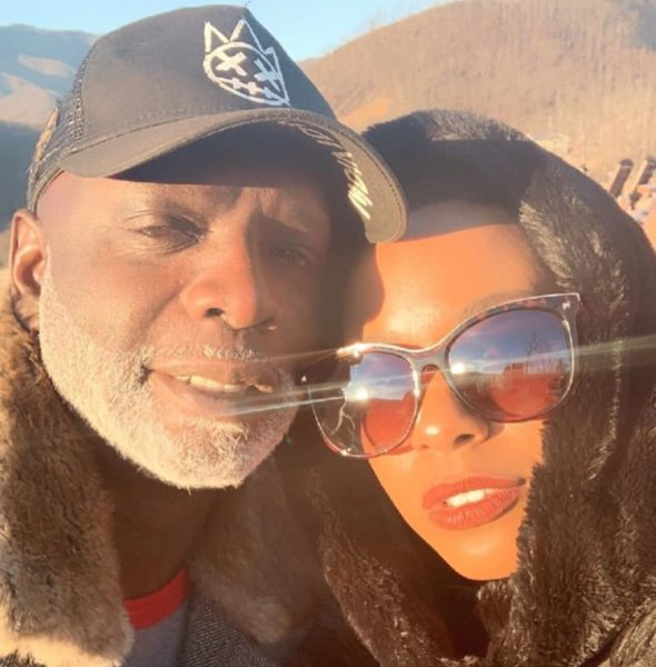 Peter Thomas Sweetly Lays In Bed W/ Girlfriend [Photo]