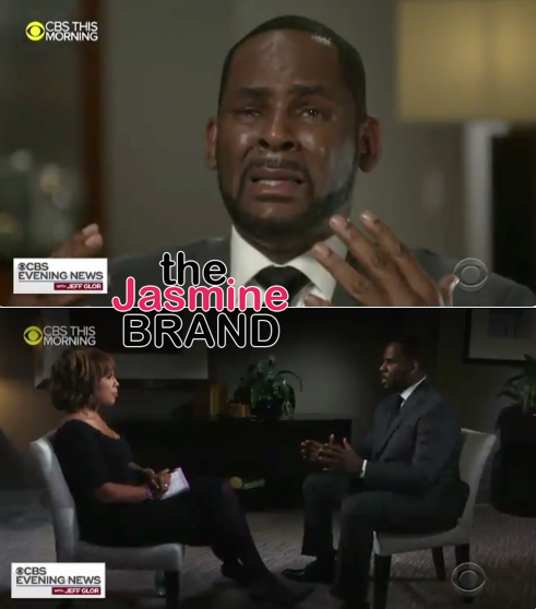 "R.Kelly Cries & Yells ""I'm Fighting For My F*cking Life!"" In 1st Sit-Down Interview [VIDEO]"