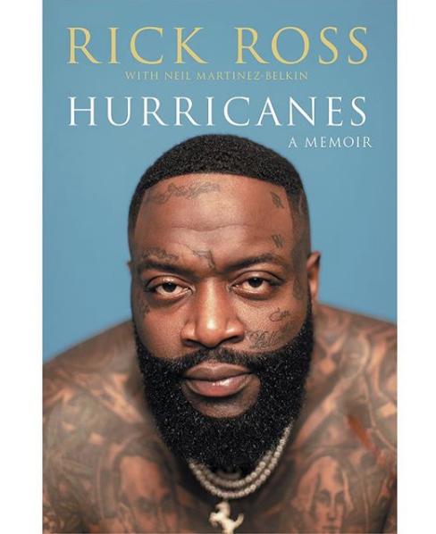 "Rick Ross To Release Memoir Called ""Hurricanes"""
