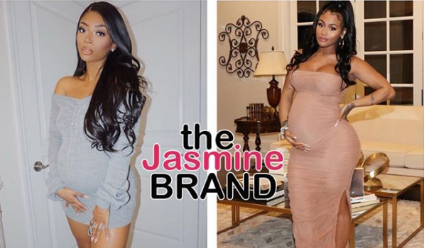 Quality Control Music CEO Pierre Thomas' 2 Pregnant Baby Mamas Lira Galore & Kaylar Will Are Ready To Pop! [Photos]