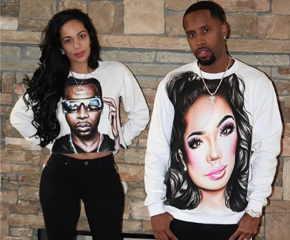 Erica Mena Teases Her & Safaree's Wedding Countdown!