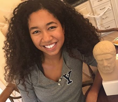 Russell Simmons' 16-Year-Old Daughter Aoki Lee Accepted Into Harvard! [VIDEO]