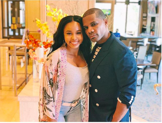 Kirk Franklin's Daughter Sounds Off On Troll Insulting His 'Contoured' Cheeks