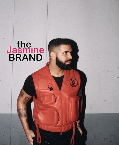 Drake Gets A Tattoo Of His Son Adonis [Photo]