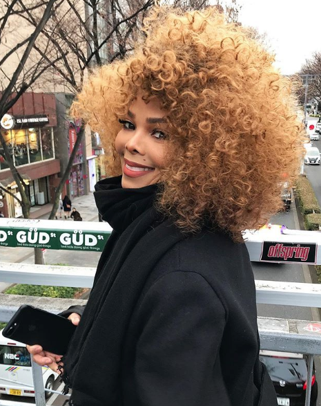 Janet Jackson Debuts New Hairstyle Just In Time For Spring