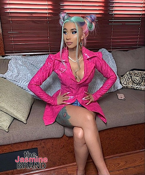 Cardi B Gives Advice To Fans Battling Depression: Google Ways On How To Be A Millionaire & Think About How You're Gonna Sh*t On People!