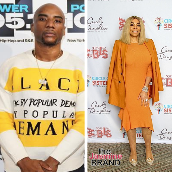 'Wendy Williams Needs Rehab From Her Bum A** Husband' Charlamagne Blames Kevin Hunter For Wendy's Alleged Drug Issues