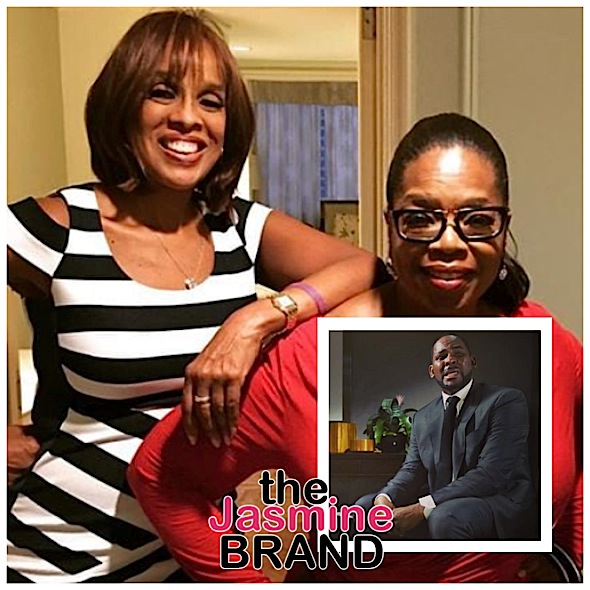 Oprah Reacts To Gayle King's R.Kelly Interview