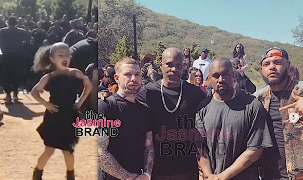 DMX Gives A Powerful Prayer At Kanye's Sunday Service, North Kardashian's Dancing Steals The Spotlight [VIDEO]