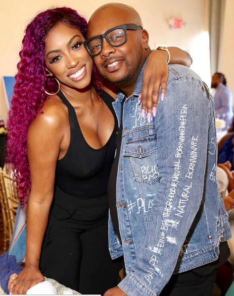 Porsha Williams' Fiancé Dennis McKinley Posts Subliminal Message Denying Break-Up Rumors