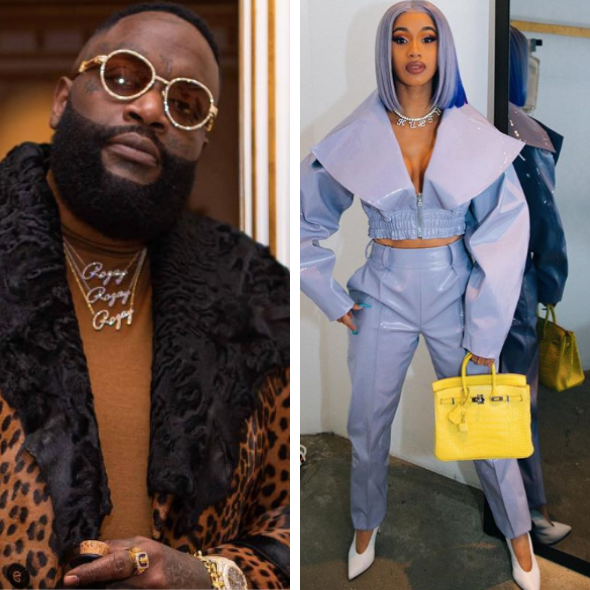 Rick Ross Says 'Leave Cardi B Alone' As #SurvivingCardiB Trends