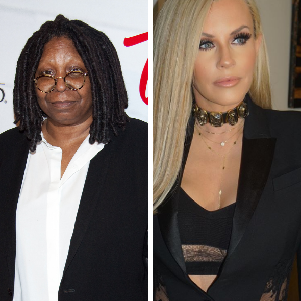 Jenny McCarthy Slams Whoopi Goldberg 'She Had An Addiction To Controlling Everybody'