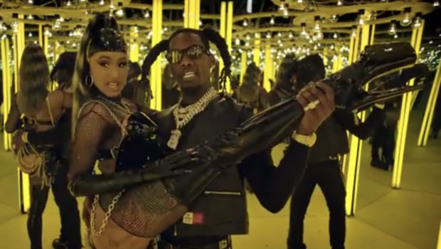 Offset & Cardi B Get Steamy In 'Clout' Video