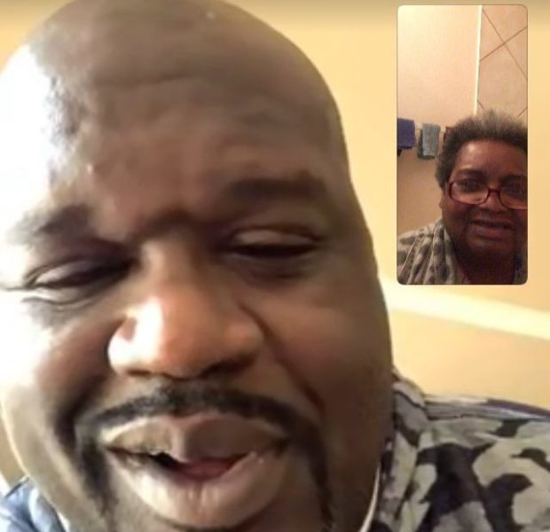Shaq Facetimes With Fan Battling Cancer [Photos]