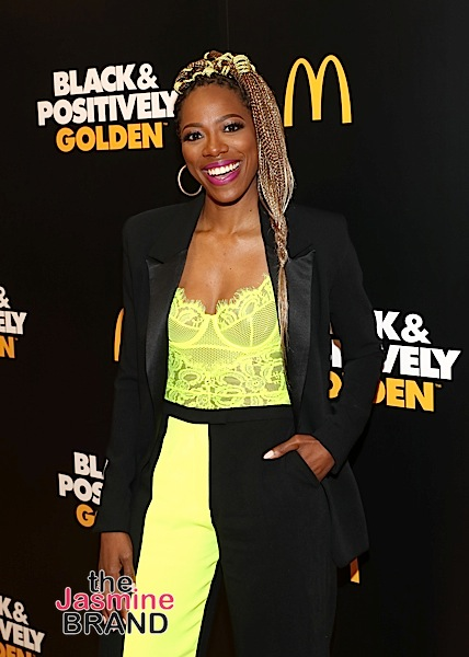 McDonald's USA Hosted Star-Studded Community Event to Launch New National Campaign – Black & Positively Golden: Yvonne Orji, Normani Help Kick Off Initiative! [Photos]