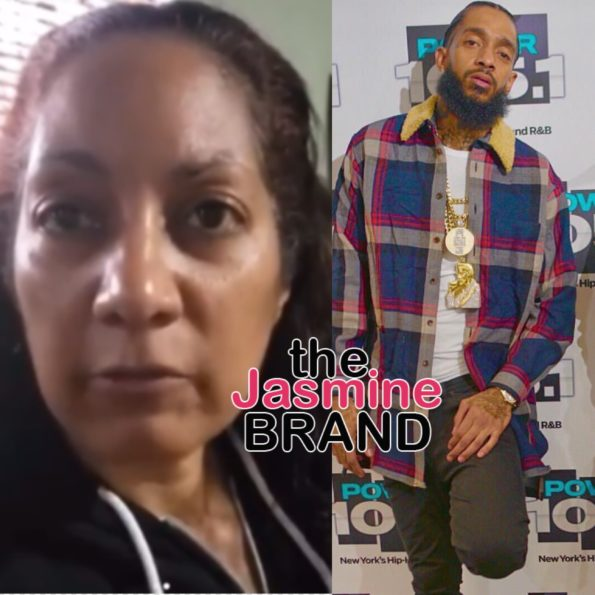 Nipsey Hussle's Mother Says Rapper Was Even More Beautiful