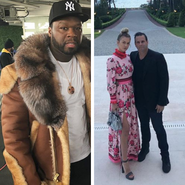 50 Cent Feuding W/ 'Power' Executive Producer Randall Emmett & His Fiancée Reality Star LaLa Kent
