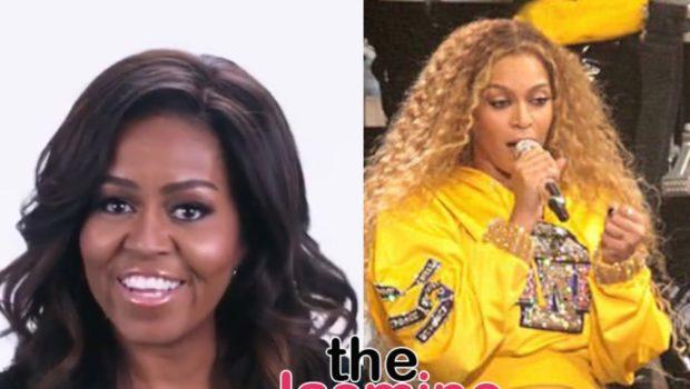 Michelle Obama Tells Beyoncé: Girl You Make Me So Proud!