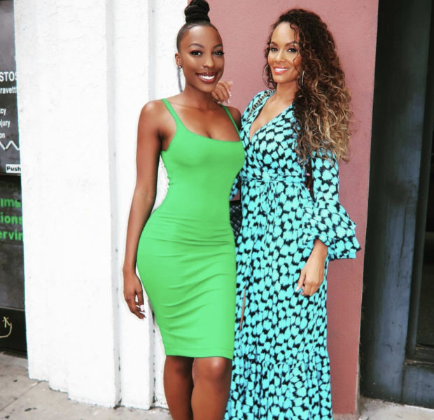 Evelyn Lozada Says Bond w/ Ex Chad Johnson's Oldest Daughter is Unbreakable