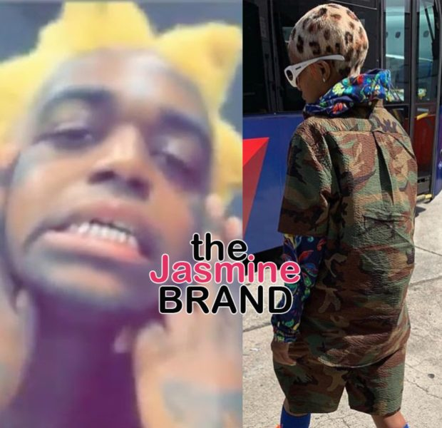 Kodak Black & Dej Loaf Debut Dramatic New Hair [Photos]
