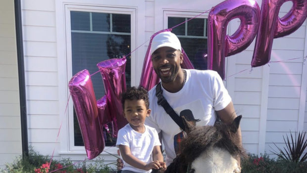 Tristan Thompson 'Had The Best Time' W/ 2-Year-Old Son Prince