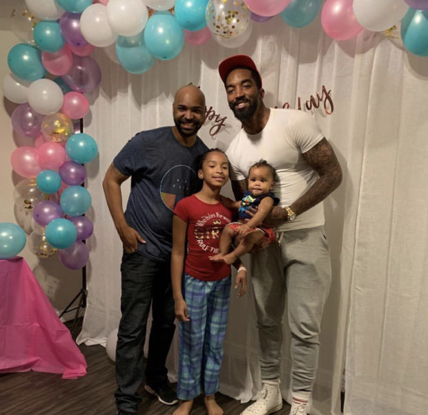 NBA Star J.R. Smith Opens Up About Meeting Daughter's Step Father For First Time