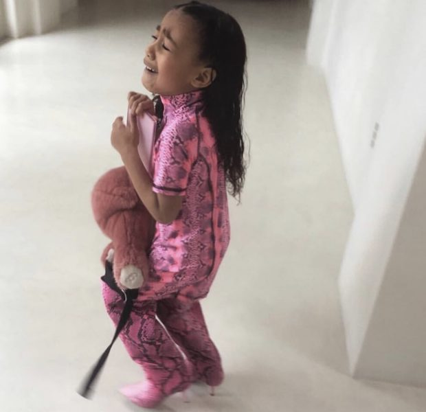 North West Has A Meltdown Over Not Being Allowed To Wear Kim Kardashian's Boots