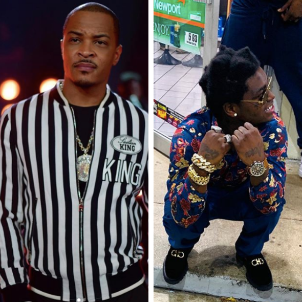 T.I. Explains Lip Scar, After Being Called Out By Kodak Black [VIDEO]