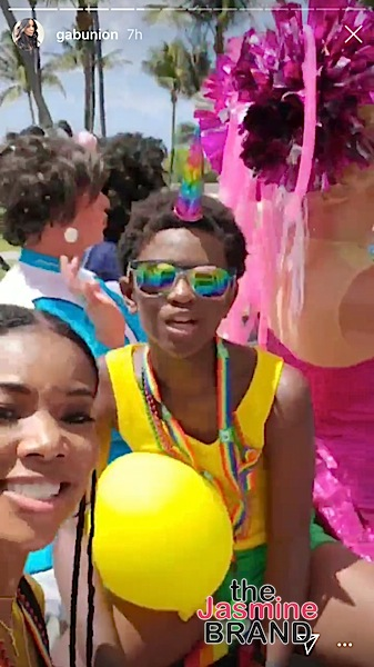 D Wade & Gabrielle Union Support 11-Year-Old Son Zion At Miami Pride