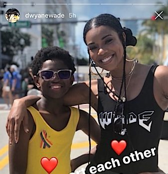 Gabrielle Union Explains Supporting 11-Year-Old Son At Gay Pride Parade 'It Feels Normal'
