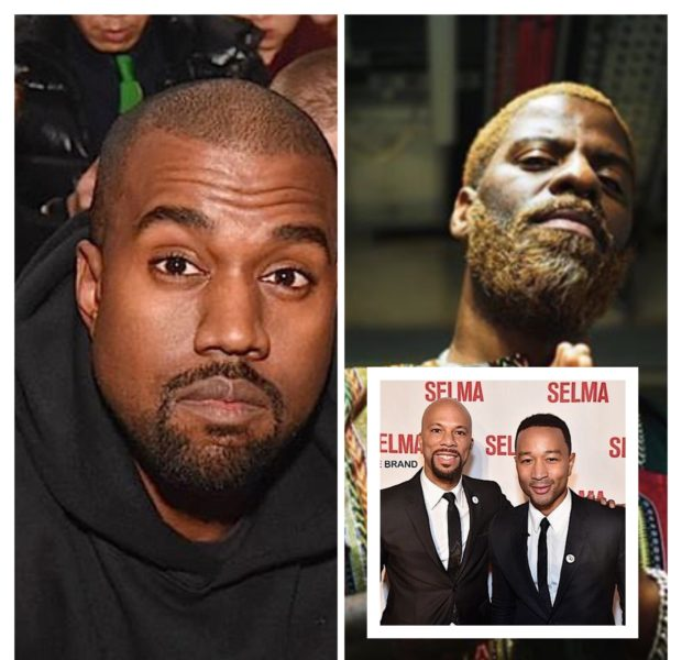 Rhymefest Says He & Kanye Have Mended Their Friendship, Reveals He Hasn't Spoken To Common Or John Legend: Of Course Not, That's Hollywood!