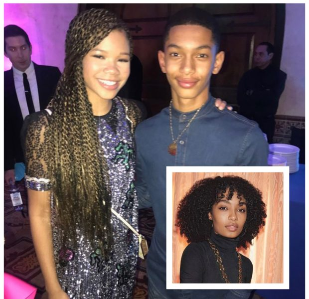 Actress Storm Reid & Yara Shahidi's Brother Sayeed Shahidi, Are Going To Prom Together! [Photos]