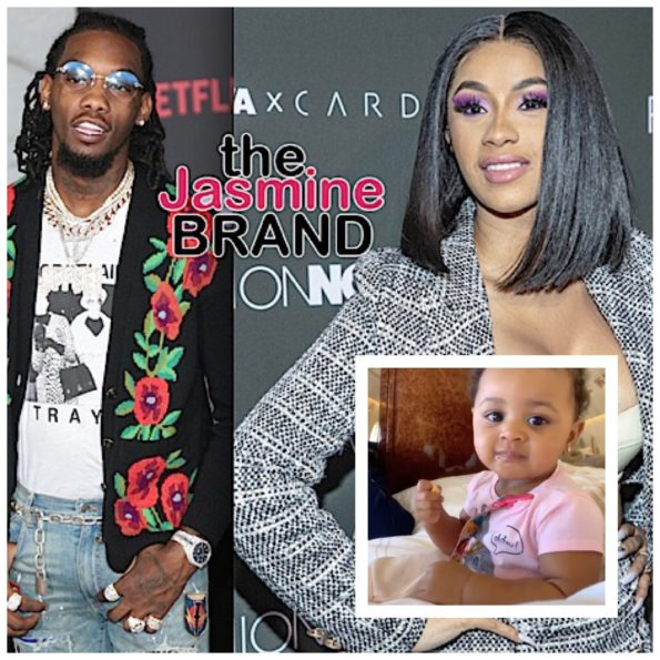 Cardi B Welcomes A Daughter With Rapper Offset: Cardi B & Offset's Daughter Kulture Dances To Their Song