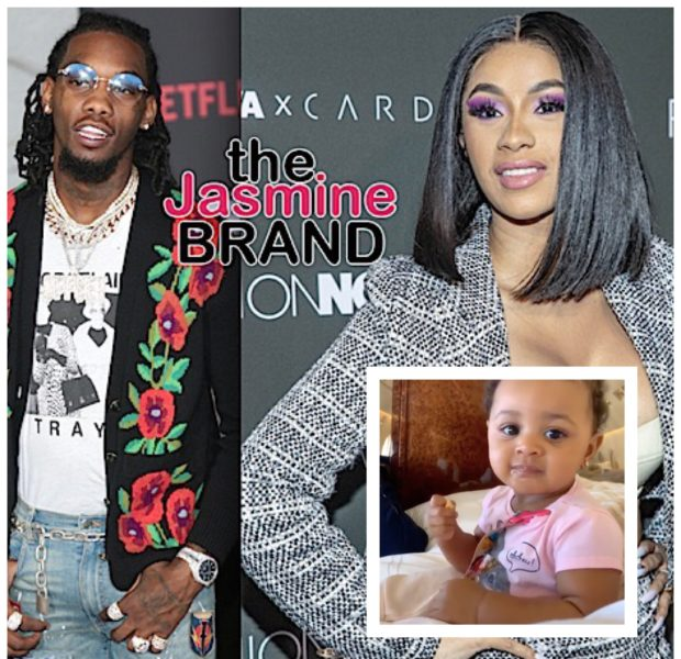 Cardi B & Offset's Daughter Kulture Dances To Their Song 'Clout' [VIDEO]
