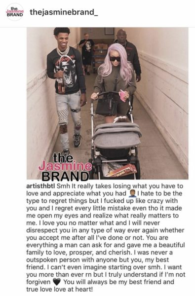 A-Boogie Begs Baby Mama Ella Bands for Another Chance