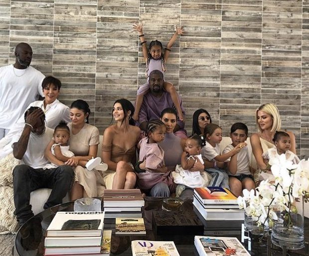 Kendall Jenner Poses W/ Nieces & Nephews, Jokes She's Avoiding Pregnancy At All Costs