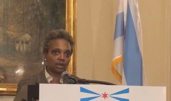 Chicago Makes History, Elects 1st Black Female Mayor Lori Lightfoot