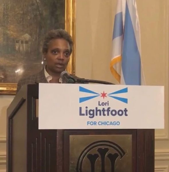 Chicago Makes History, Elects 1st Black Female Mayor Lori Lightfoot