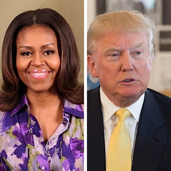 Michelle Obama Slams Donald Trump's Actions As 'Racist' & 'Morally Wrong' [WATCH]