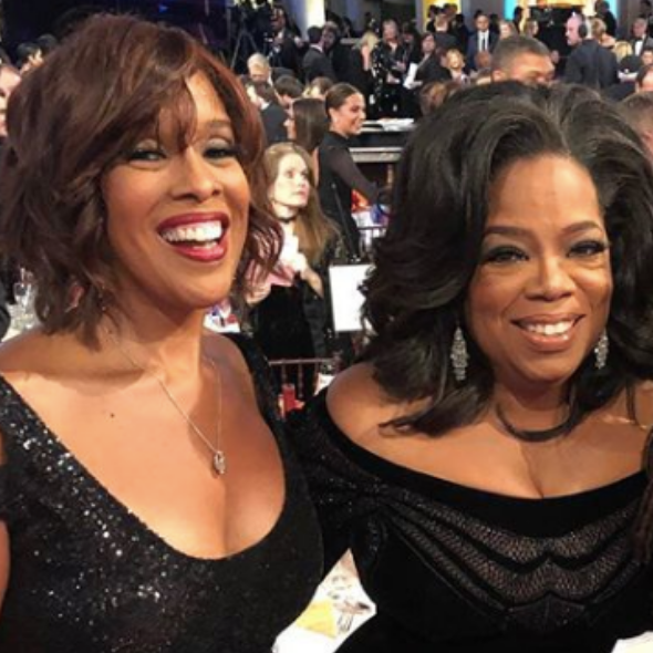 Oprah Winfrey & Gayle King Reunite After 3 Months, Still Social Distancing [WATCH]